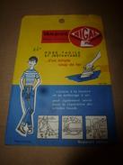1960 NIGAL Thermo-Collant Pour Réparer Les Blue-Jeans D'un Coup De Fer à Repasser. - Advertising