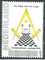 103 PAYS BAS (Nederland) 2016 De Getande Rand - Masonic Franc Maconnerie Freemasonry - Neuf ** (MNH) Sans Charniere - Franc-Maçonnerie