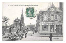 (17260-50) Le Havre Quartier De L' Eure (Leure) - Poste Rue De Gravelotte - Attelage Télégraphes - Eglise Saint Nicolas - Andere