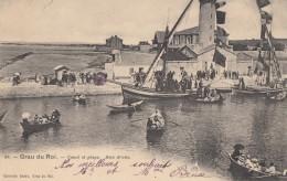 CPA - Le Grau Du Roi - Canal Et Plage - Rive Droite - Le Grau-du-Roi