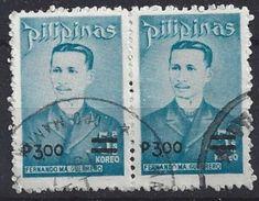 Philiippines  1977  Portraits: Fernando Ma Guerrero 3P. On 5p. (o) - Philippines