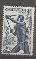 CAMEROUN - Yv. N° 288  *  4f  Tiraur à L'arc Cote 0,8 Euro  BE 2 Scans - Cameroun (1915-1959)