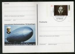 Germany 1997 Int'al Zeppelins Graff Aviation Transport Post Card # 7081 - Zeppelins