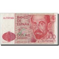 Espagne, 2000 Pesetas, 1980, KM:159, 1980-07-22, SUP - [ 4] 1975-… : Juan Carlos I