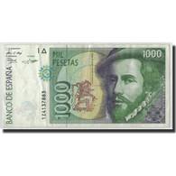Espagne, 1000 Pesetas, 1992, KM:163, 1992-10-12, TTB - [ 4] 1975-… : Juan Carlos I