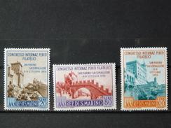 SAINT-MARIN - 1956 - N° 424/426 * Quasi ** (voir Scan) - San Marino