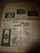 1957  VOYAGE Au PAYS Du GRUYERE Avec L'Amicale De L'Ecole De Saint-Didier - Unclassified