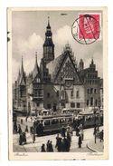 CPA POLOGNE BRESLAU Rathaus - Pologne