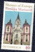 Autriche 2016 Oblitéré Rond Used Sanctuaires D'Europe Basilique De Mariazell SU - 1945-.... 2ème République