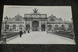 119/ Bruxelles La Gare Du Midi - Spoorwegen, Stations