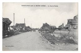 (17276-80) Chaulnes Après La Grande Guerre - La Rue Du Moulin - Chaulnes