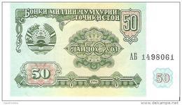 Tajikistan - Pick 5 - 50 Rubles 1994 - Unc - Tadjikistan