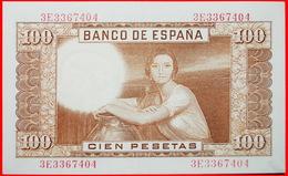 √ TORRES (1874-1930): SPAIN ★ 100 PESETAS 1953 CRISP! LOW START ★  NO RESERVE! - [ 3] 1936-1975 : Regency Of Franco