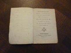 Pamphlet Révolution Reflections  Sur Commentaires Du Scavant Bassenge Relatifs à La Lettre Du Prince De Liège De 1789 - Libros, Revistas, Cómics