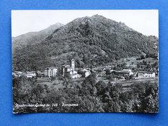 Cartolina Monterosso Grana - Panorama - 1966 - Cuneo