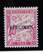 France Cours D'Instruction Taxe N°35 Spécimen  - Neuf *avec Charnière - TB - Instructional Courses