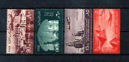 1959-60 EGITTO SERIE COMPLETA MNH ** - Posta Aerea
