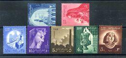 1958 EGITTO SERIE COMPLETA MNH ** - Egitto