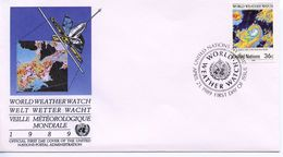 UNITED NATIONS  - 1989 The 25th Anniversary Of World Weather Watch  FD908 - New York – UN Headquarters