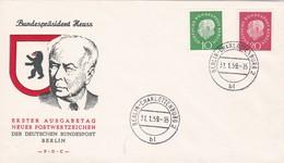 RFA 1959 LETTRE DE BERLIN-CHARLOTTENBURG  FDC - [7] República Federal