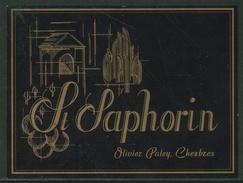 Rare // Etiquette // St.Saphorin,Olivier Paley, Chexbres, Vaud Suisse - Etiquettes