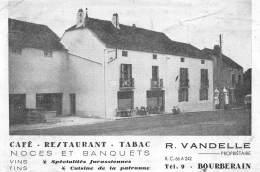 21 - COTE D' OR / Bourberain - 212029 - Bourberain - Café Restaurant Vandelle - Défaut - état - Francia