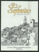 Rare // Etiquette // St.Saphorin , J.J. Et J.F. Morel, Chardonne, Vaud Suisse - Etiquettes