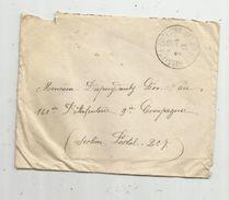 Lettre , BUSSIERE POITEVINE , Haute Vienne , 1918 - Storia Postale