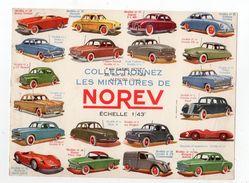 Oct17   80019    Buvard   Collectionnez Les Miniatures De NOREV - Automotive