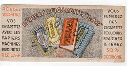 Oct17   80018    Buvard   Papier à Cigarettes  A Croix - Tobacco