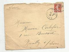 Lettre , VICHY , Allier , 1910 - 1877-1920: Période Semi Moderne