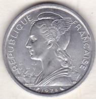 ILE DE LA REUNION. 2 FRANCS 1973 . ALUMINIUM . - Reunión