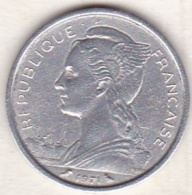 ILE DE LA REUNION. 1 FRANC 1971 . ALUMINIUM - Reunión