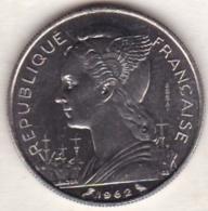 REUNION. 50 FRANCS 1962 ESSAI. Nickel. 1200 Exemplaires. RARE - Réunion