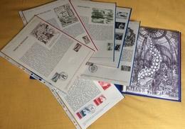 Documents Philatéliques Officiels Poste Année Complète 1975 37 Documents Silmples + Hors Série Double Artphila 75 - Documenti Della Posta
