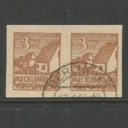 Sowjetische Zone (SBZ). Abschiedsserie, Nr. 29 Y Paar Gestempelt, Geprüft Thom BPP - Sowjetische Zone (SBZ)