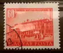 FRANCOBOLLI STAMPS UNGHERIA HUNGARY 1951 SERIE COSTRUZIONI PIANO QUINQUENNALE BUDAPEST  MAGYAR POSTA - Ungheria
