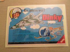 DINKY TOYS : TORNADO ET HELICOPTERE BELL   Pour  Collectionneurs ... PUBLICITE  Page De Revue Des Années 70 Plastifiée P - Airplanes & Helicopters