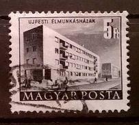 FRANCOBOLLI STAMPS UNGHERIA HUNGARY 1952 SERIE COSTRUZIONI PIANO QUINQUENNALE   MAGYAR POSTA - Ungheria