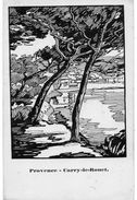 PROVENCE-CARRY LE ROUET -carte Chemins De Fer P.L.M. - 1900-1949