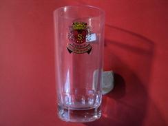 VERRE A PASTIS ANISETTE DUVAL AUX ARMOIRIES DE SISTERON - Glasses