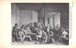 75 - PARIS ( Série MOEURS Et COUTUMES De L'ANCIEN PARIS ) Le CABARET ... CPA Illustrée D'après Lithographie - France