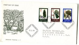 FINLAND FDC 1969 With TREES - Finlande