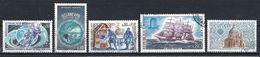 France 1971 : Timbres Yvert & Tellier N° 1665 - 1666 - 1671 - 1674 - 1676 - 1677 - 1684 - 1686 - 1698 - 1700 Et 1701 ... - France