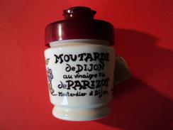 POT A MOUTARDE DE DIJON AU VINAIGRE FIN DE PARIZOT - Vaisselle, Verres & Couverts
