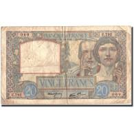 France, 20 Francs, 1940, 1940-08-01, KM:92a, TB, Fayette:12.5 - 1871-1952 Anciens Francs Circulés Au XXème
