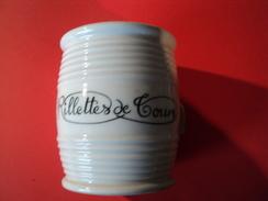 POT DE RILLETTES DE TOURS. CERAMIQUES BARBIER - Dishware, Glassware, & Cutlery