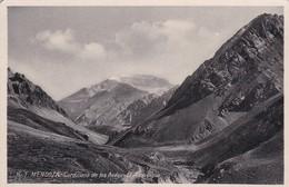 EL ACONCAGUA, CORDILLERA DE LOS ANDES. MENDOZA. CIRCA 1950S. ARGENTINE - BLEUP - Argentina