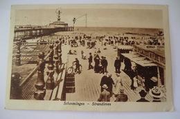 CPA PAYS BAS SCHEVENINGEN. STRANDLEVEN. 1925. - Scheveningen