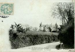 717. CPA 24 LA DOUBLE PITTORESQUE - SAINTE-AULAYE - LE CHATEAU - Otros Municipios